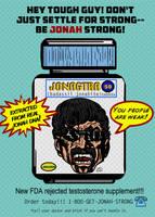 Jonagtra Testosterone Supplement Ad by LeevanCleefIII