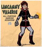 Uncanny Valerie by LeevanCleefIII