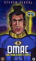 OMAC Live-Action Movie VHS Cover by LeevanCleefIII