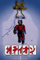 NEW GODS Orion AKIRA poster mashup by LeevanCleefIII