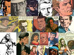 Comic Book Actor Likeness Collage Vol. 2