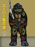 Ninja Turtle by LeevanCleefIII