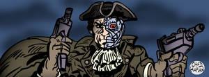 Cyborg Colonial by LeevanCleefIII