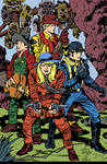 Jack Kirby BOYS' RANCH Inked and Colored