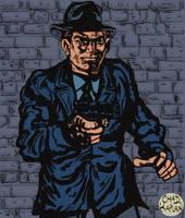 Alleyway Enforcer by LeevanCleefIII