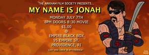 MY NAME IS JONAH Flyer 2 by LeevanCleefIII
