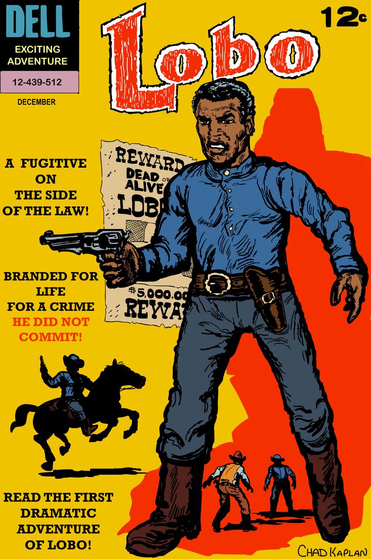 Dell Comics LOBO #1 Cover Remake by LeevanCleefIII