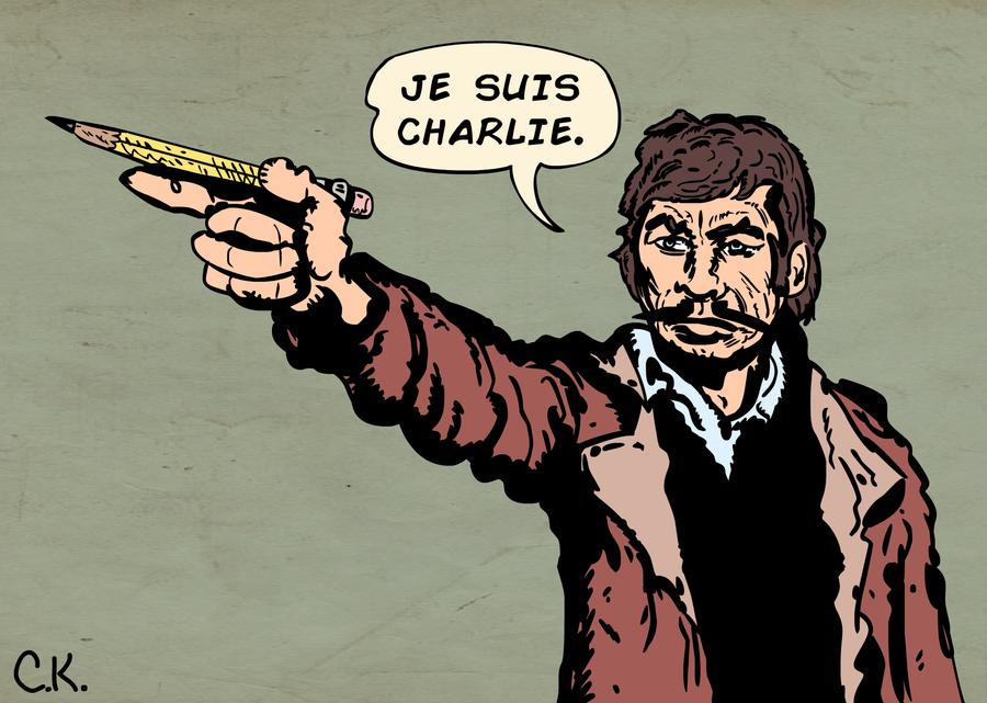 Je Suis Charlie (Bronson) by LeevanCleefIII