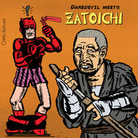 Daredevil Meets Zatoichi by LeevanCleefIII