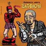 Daredevil Meets Zatoichi by LeevanCleefIII