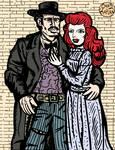 Western Couple by LeevanCleefIII