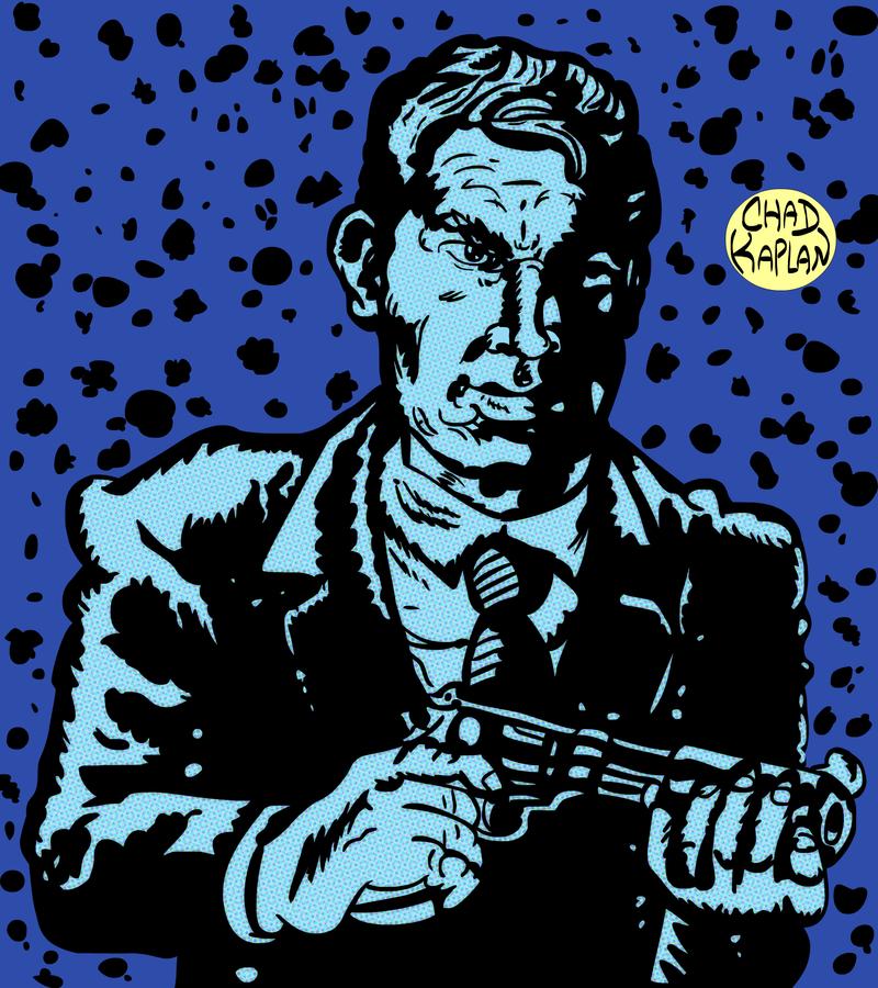 Lee Marvin in THE KILLERS by LeevanCleefIII