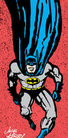 Jack Kirby Batman (Inks and Colors) by LeevanCleefIII