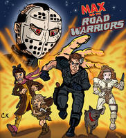 MAX AND THE ROAD WARRIORS 80s Cartoon by LeevanCleefIII