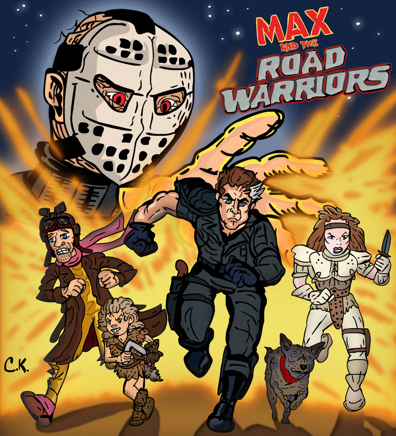 MAX AND THE ROAD WARRIORS 80s Cartoon by LeevanCleefIII