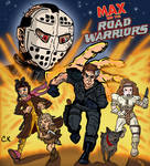 MAX AND THE ROAD WARRIORS 80s Cartoon