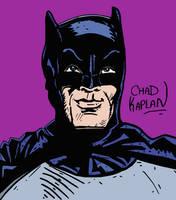 1966 Adam West Batman by LeevanCleefIII