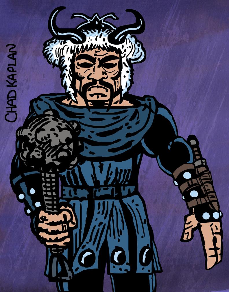 Hogun the Grim by LeevanCleefIII