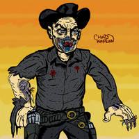 Westworld Gunslinger by LeevanCleefIII
