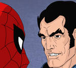 Spider-Man and The Punisher (Inks and Colors)