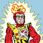 Bernie Sanders as Firestorm