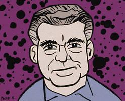 Jack Kirby by LeevanCleefIII