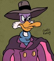 Darkwing Duck by LeevanCleefIII