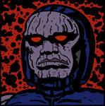 Darkseid by LeevanCleefIII