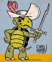 Touche Turtle by LeevanCleefIII