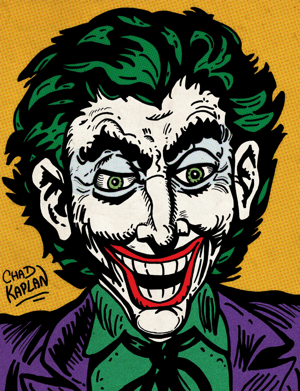 The Joker by LeevanCleefIII