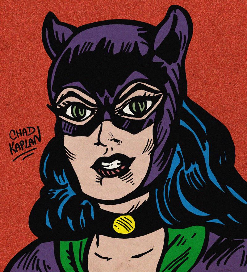 Catwoman by LeevanCleefIII