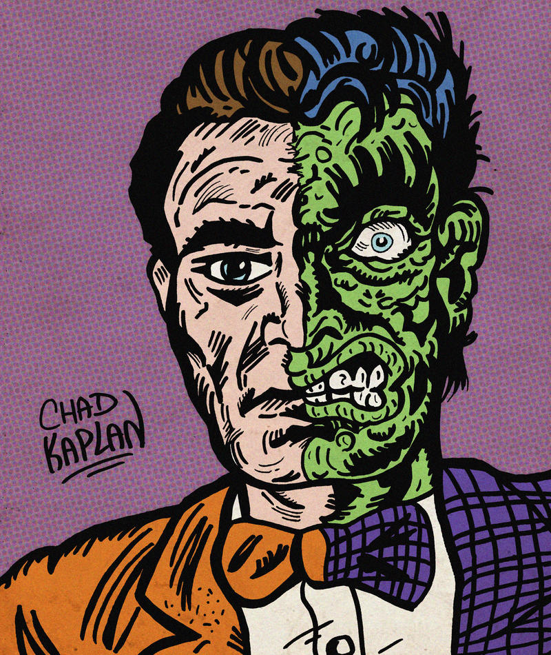 Two-Face by LeevanCleefIII