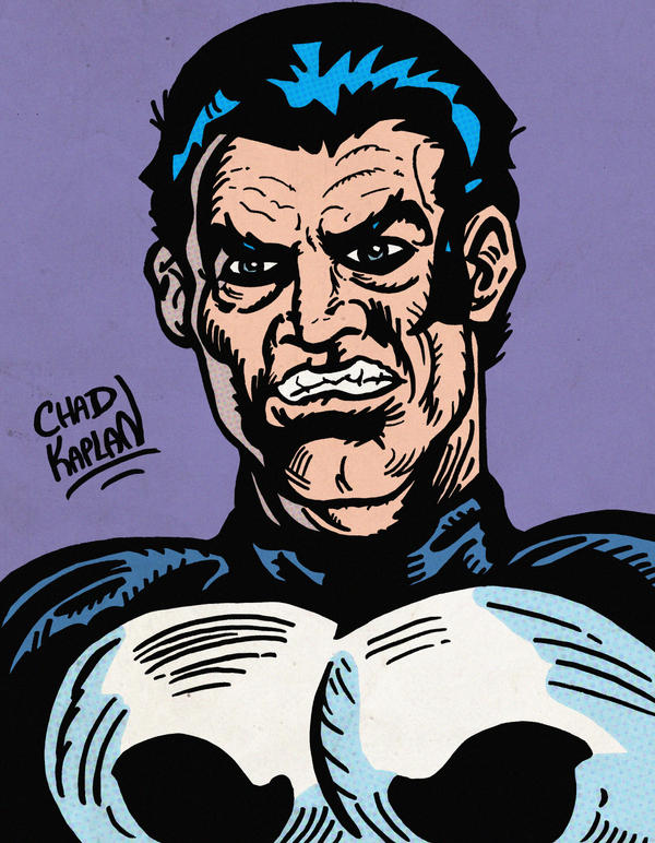 The Punisher by LeevanCleefIII