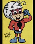 Atom Ant-Man by LeevanCleefIII