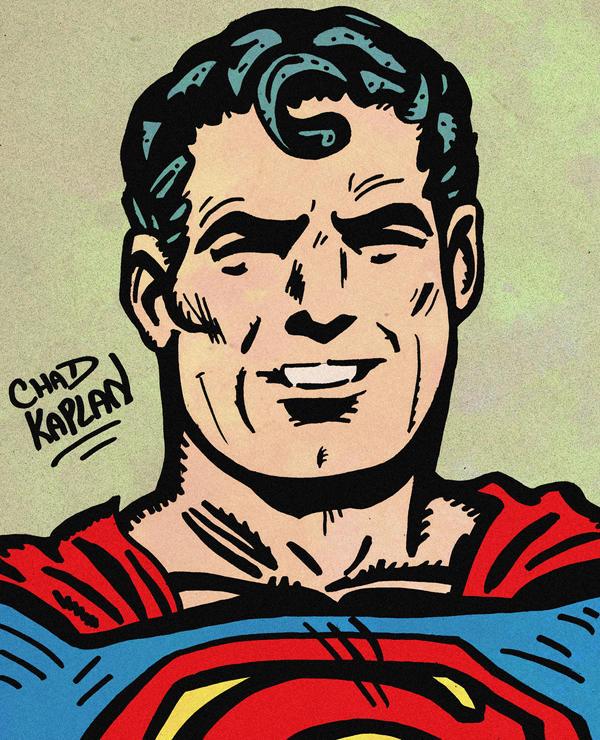 Superman by LeevanCleefIII