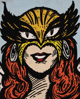 Hawkgirl by LeevanCleefIII