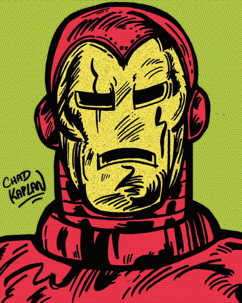 Iron Man by LeevanCleefIII