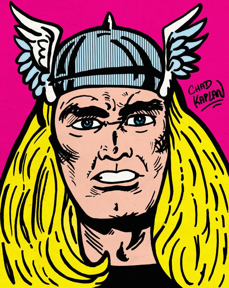 Thor by LeevanCleefIII