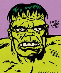 Hulk by LeevanCleefIII