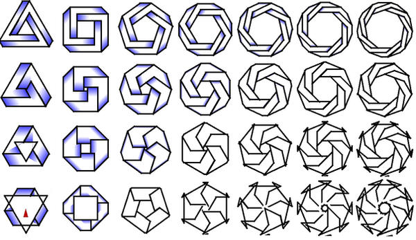 how to draw impossible shapes