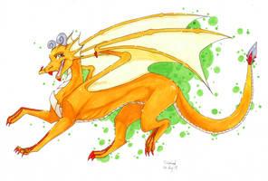 Drakalette Dragon Lady by Rabbiata