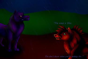 ''You want a War, by AleaFlight