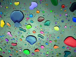 It's Raining Colors by secretgal1234