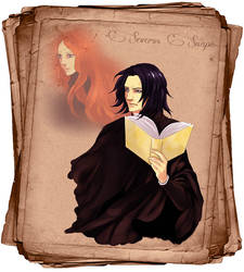 Severus Snape by Purple-Meow