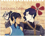 Korra and Tahno