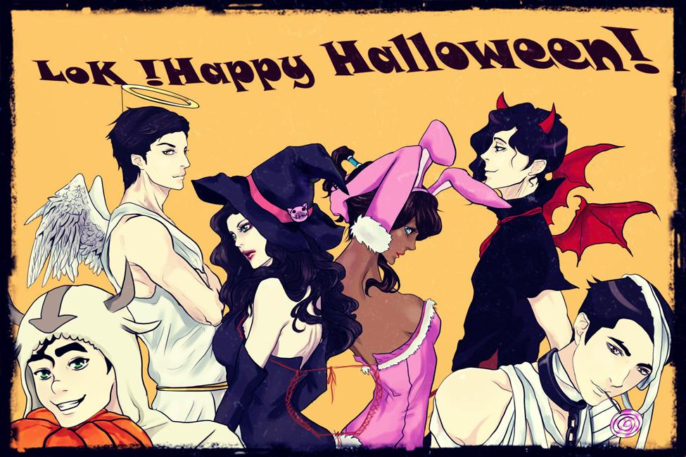 Happy Halloween by Purple-Meow