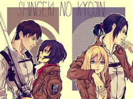 Shingeki no Kyojin couple