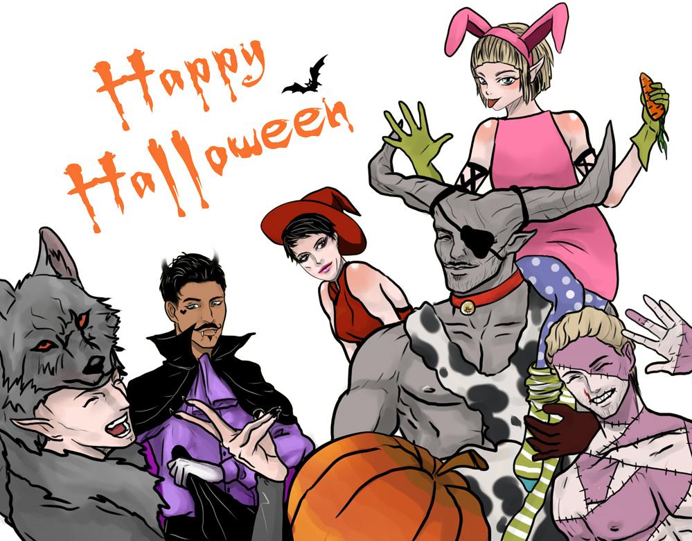 DAI Happy Halloween by Purple-Meow