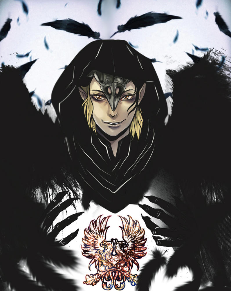 Zevran The Crow by Purple-Meow