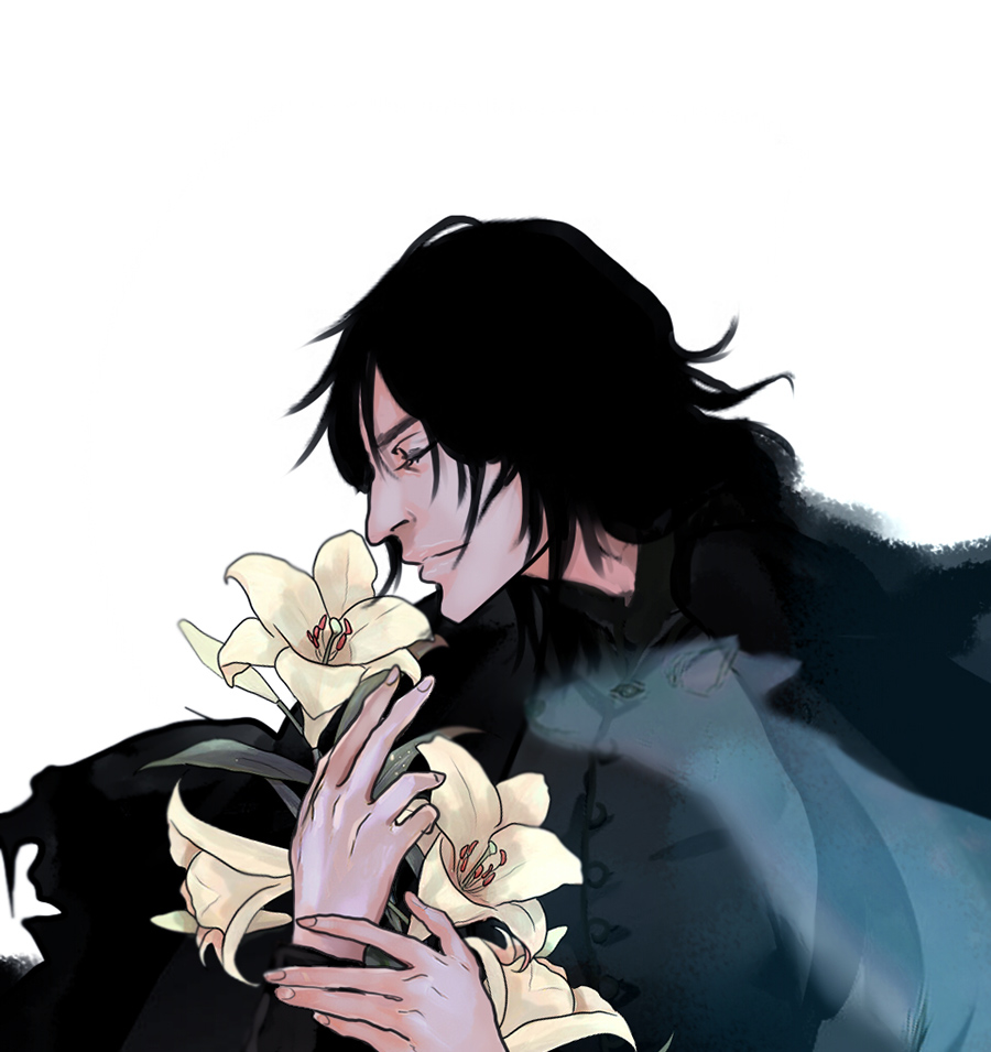 Goodbye my Severus Snape by Purple-Meow